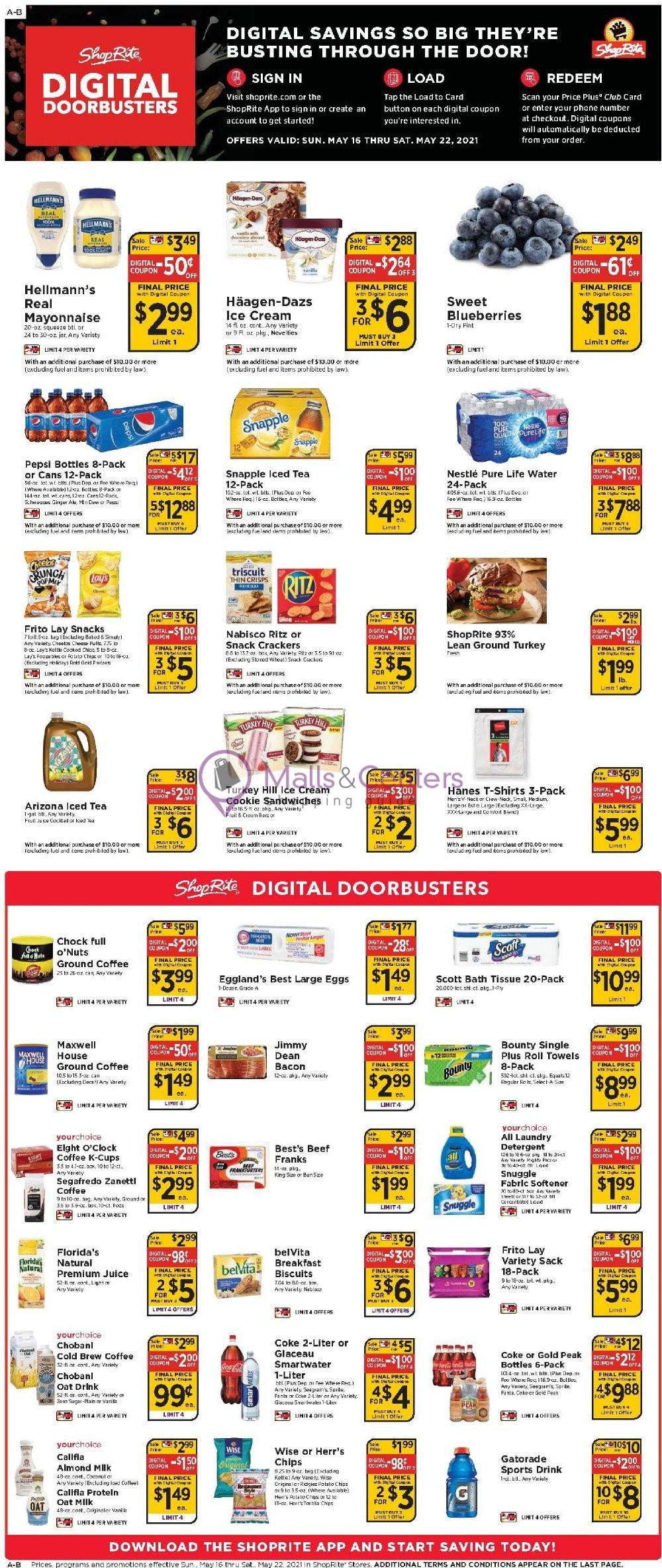 weekly ads ShopRite - page 1 - mallscenters.com