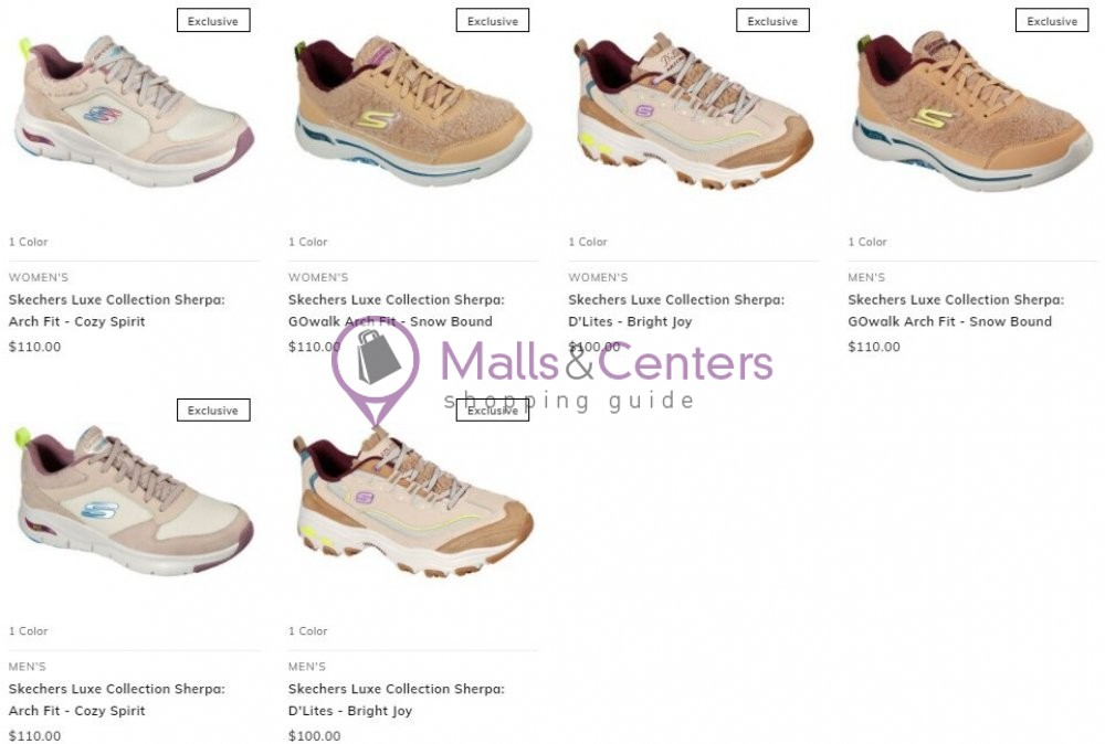 weekly ad Skechers - page 1 - mallscenters.com