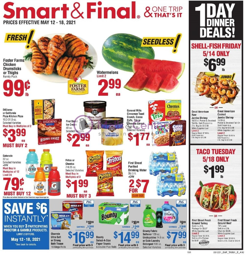 weekly ads Smart & Final - page 1 - mallscenters.com