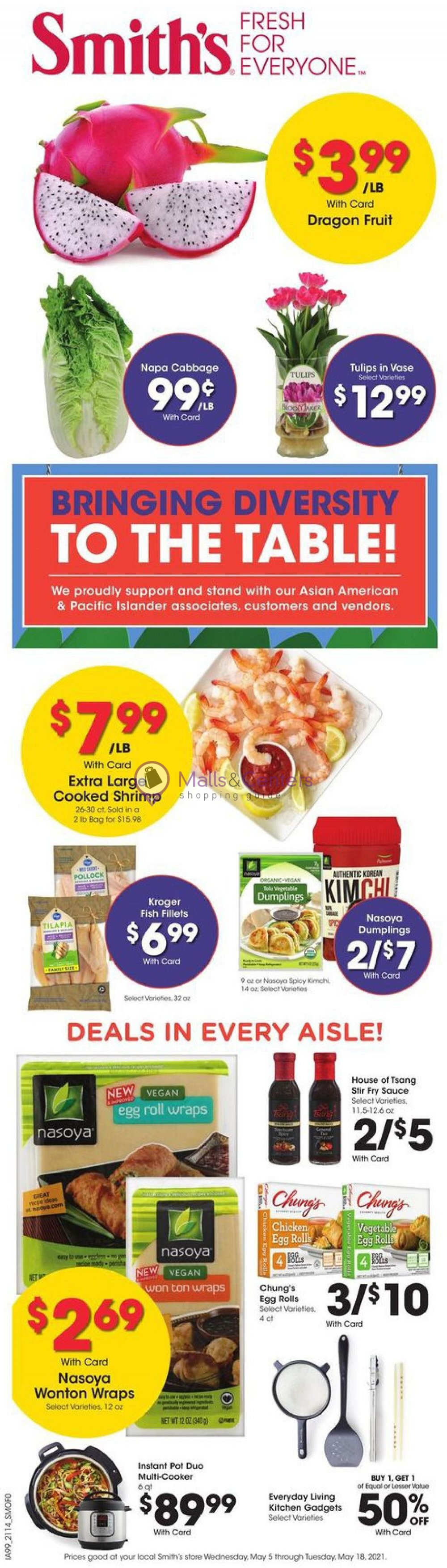 weekly ads Smith's - page 1 - mallscenters.com