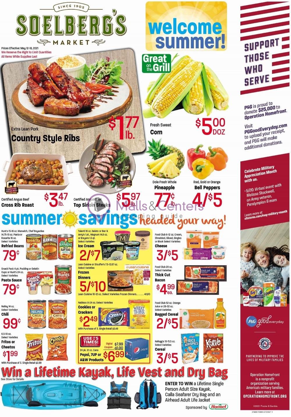 weekly ads Soelberg's Market - page 1 - mallscenters.com