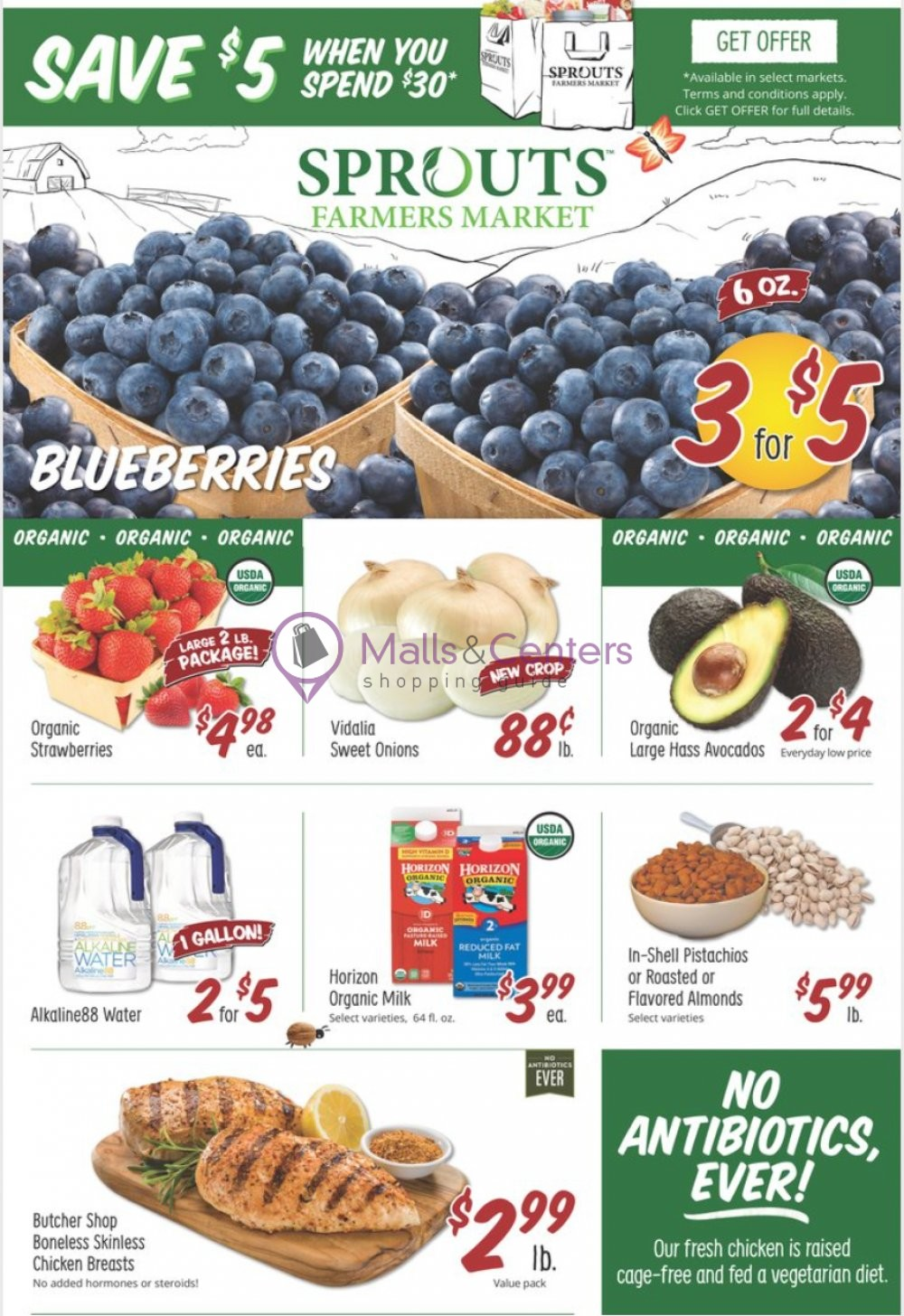 weekly ads Sprouts Farmers Market - page 1 - mallscenters.com