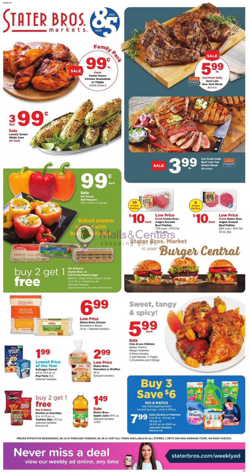 weekly ads Stater Bros. - page 1 - mallscenters.com