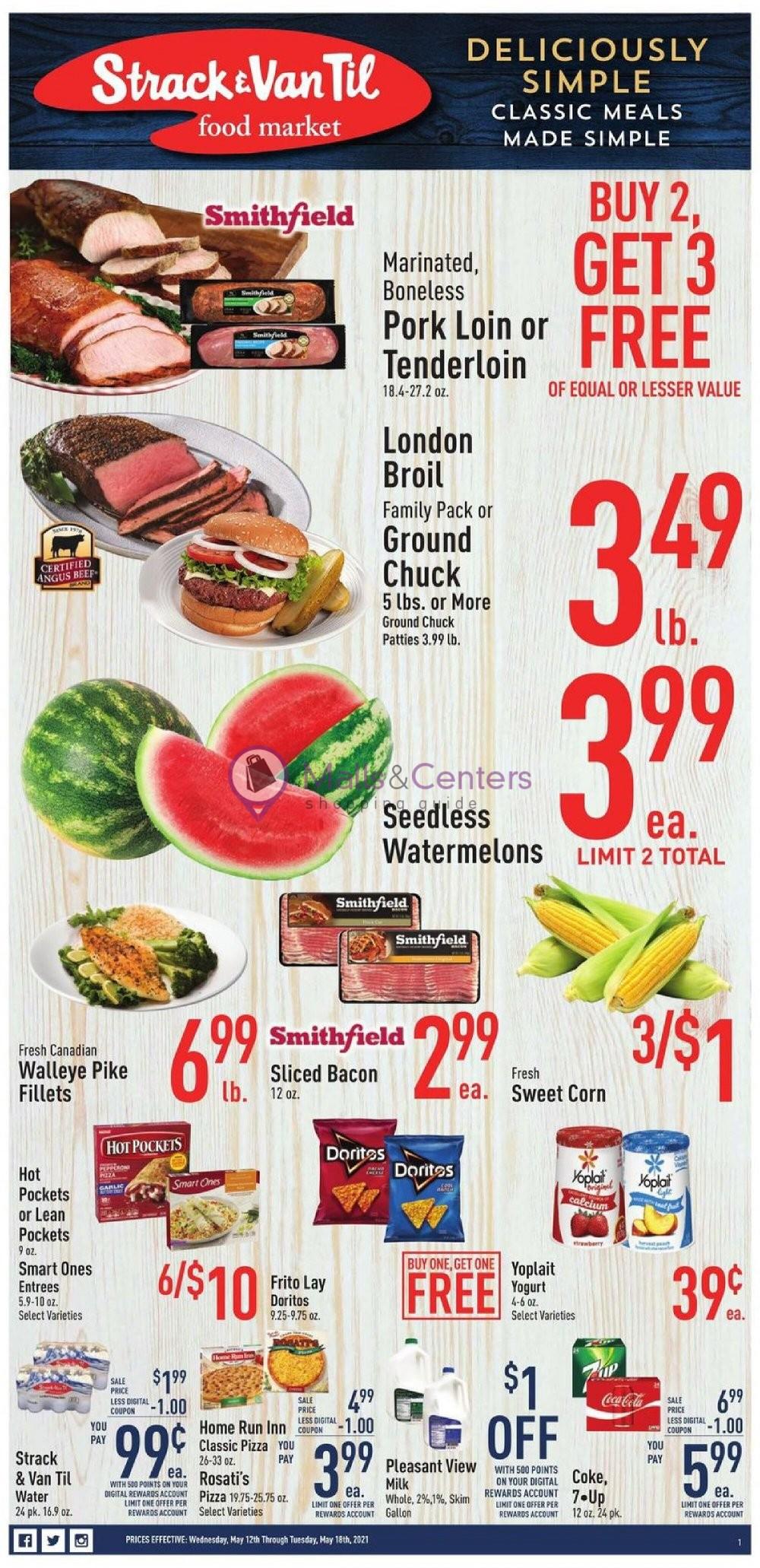 weekly ads Strack & Van Til - page 1 - mallscenters.com