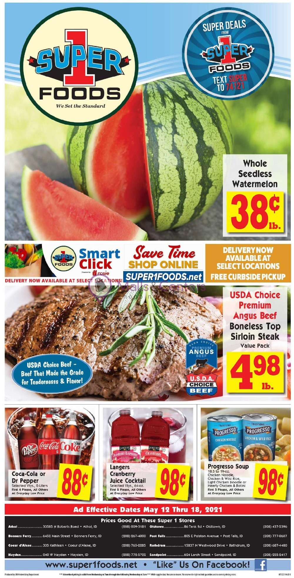 weekly ads Super 1 Foods - page 1 - mallscenters.com