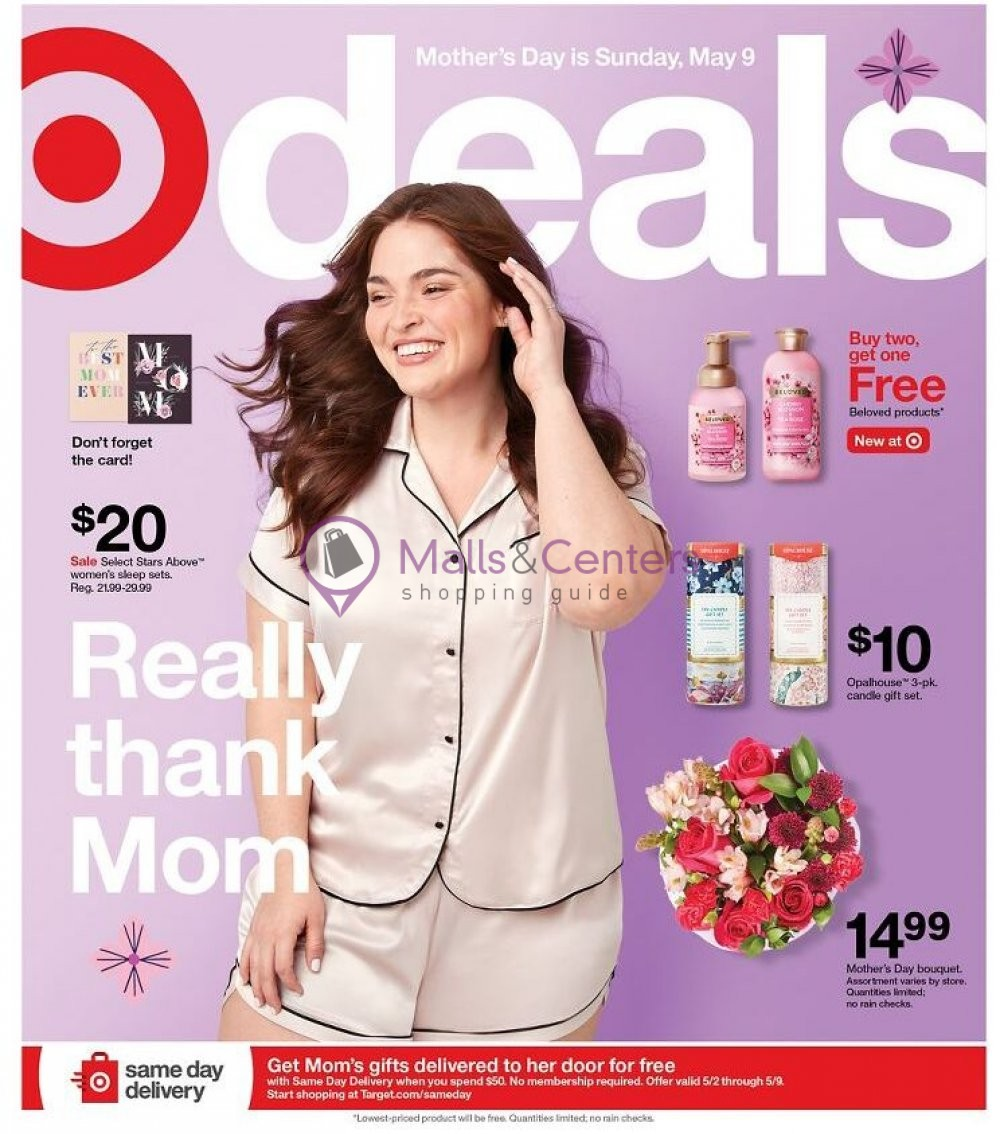 weekly ads Target - page 1 - mallscenters.com