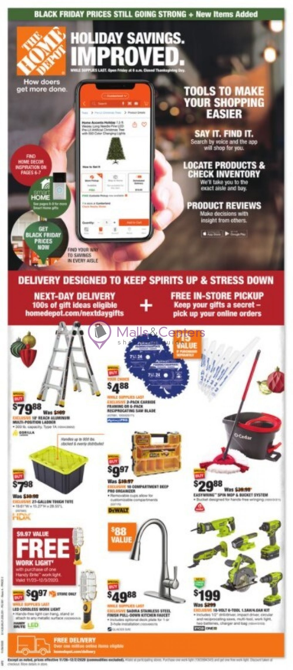 weekly ads The Home Depot - page 1 - mallscenters.com