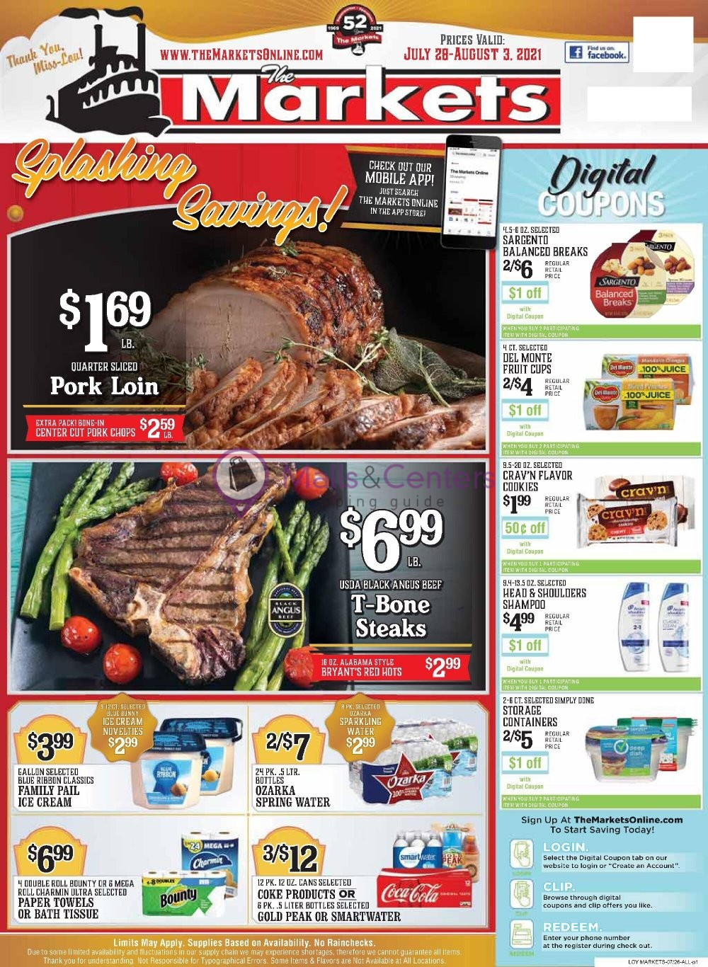 weekly ads The Markets - page 1 - mallscenters.com