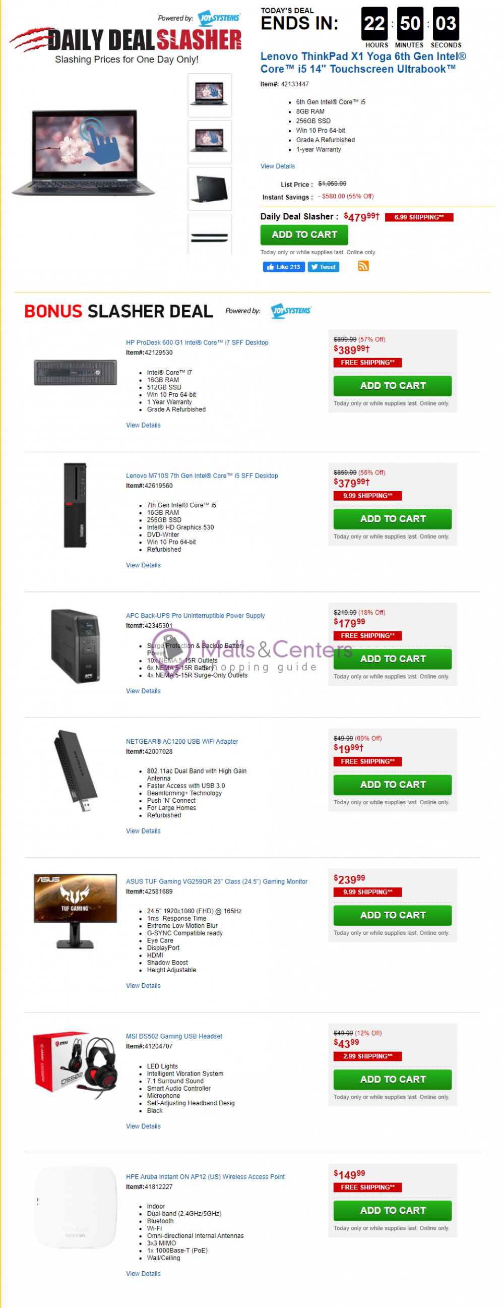 weekly ads Tiger Direct - page 1 - mallscenters.com