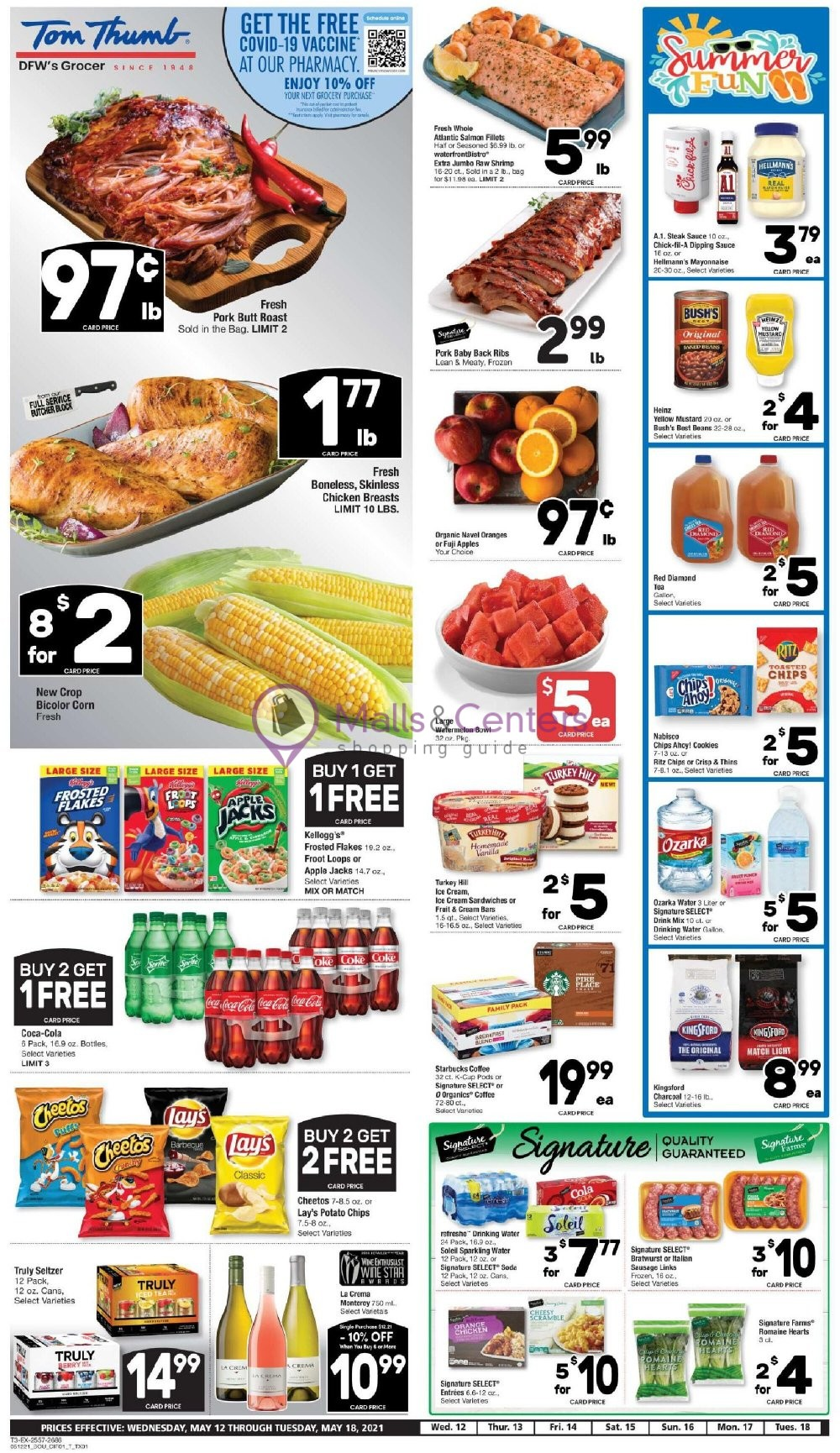weekly ads Tom Thumb - page 1 - mallscenters.com
