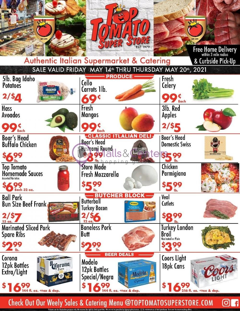 weekly ads Top Tomato Super Store - page 1 - mallscenters.com