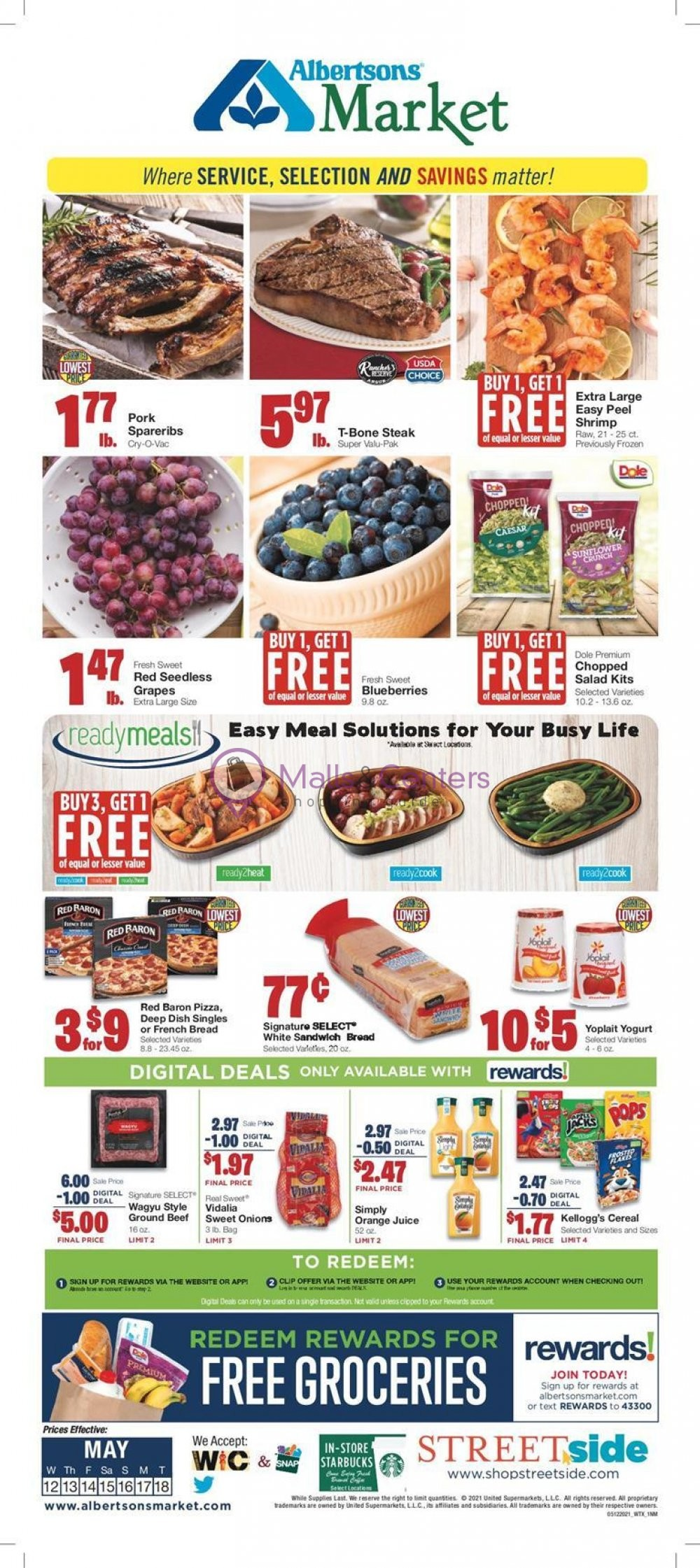 weekly ads United Supermarkets - page 1 - mallscenters.com