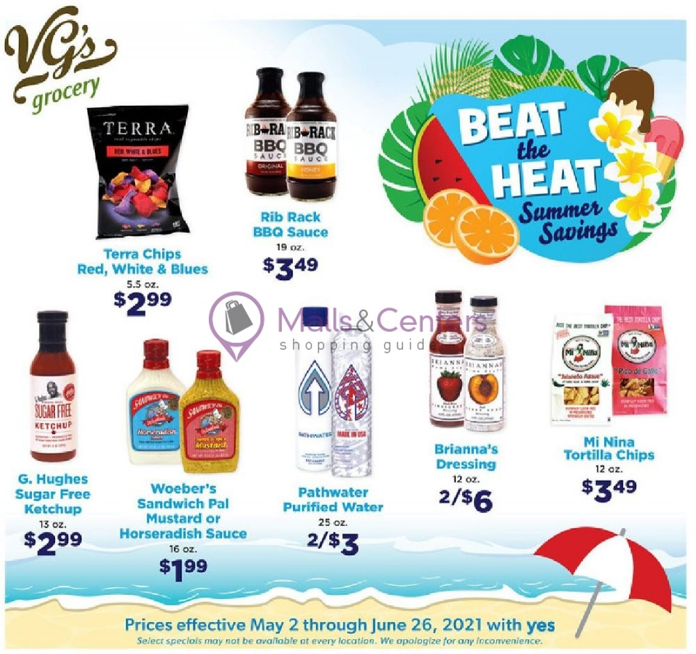 weekly ads VG's Grocery - page 1 - mallscenters.com