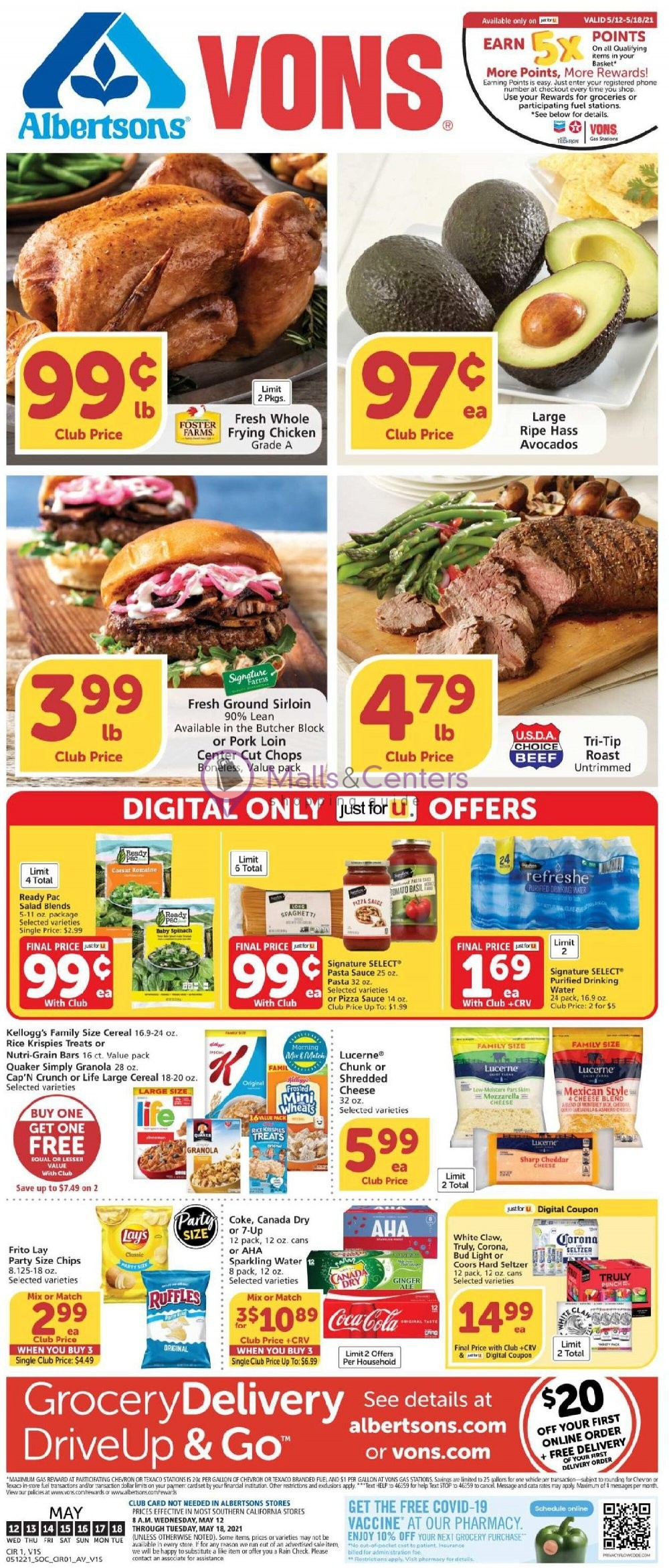 weekly ads Vons - page 1 - mallscenters.com