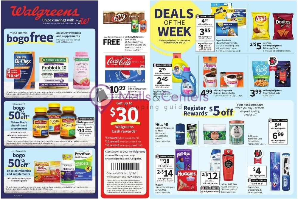 weekly ads Walgreens - page 1 - mallscenters.com