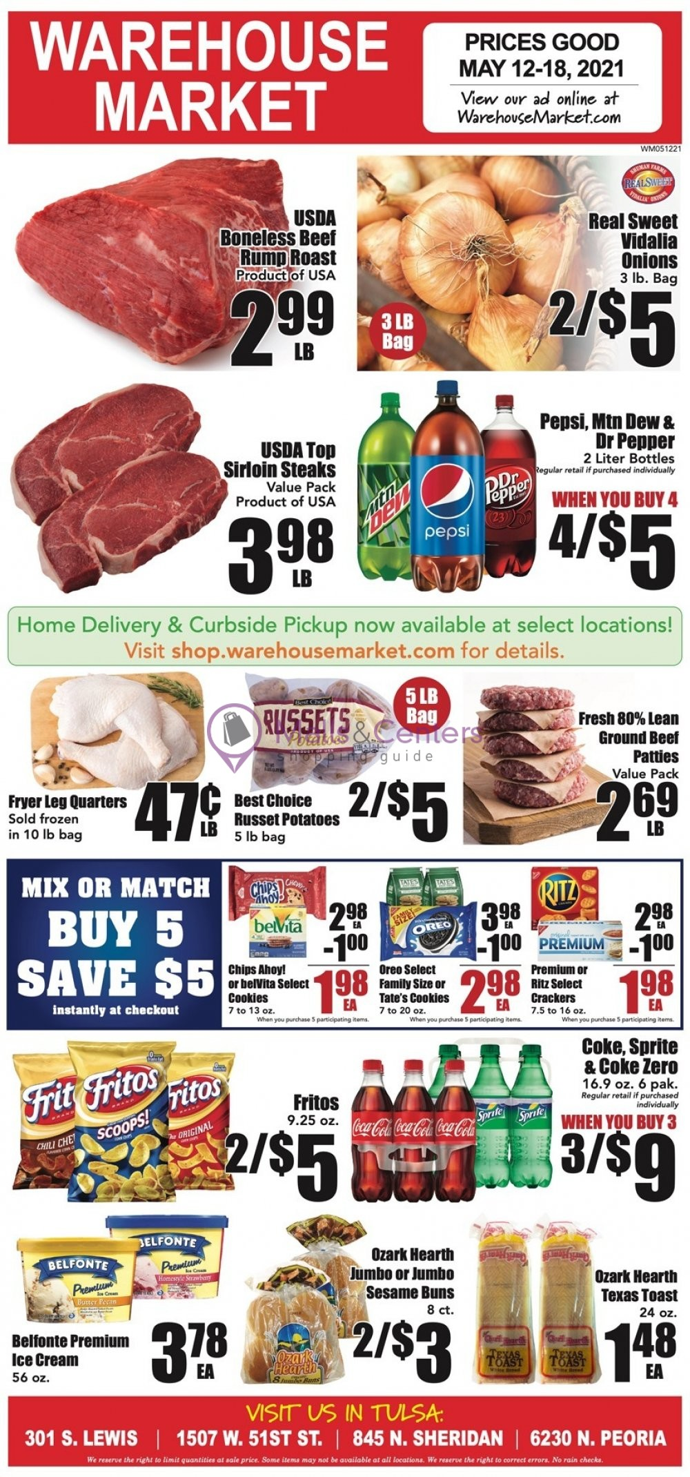 weekly ads Warehouse Market - page 1 - mallscenters.com