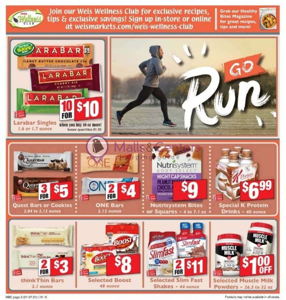 Weis Markets Weekly Ad - sales & flyers specials - MallsCenters