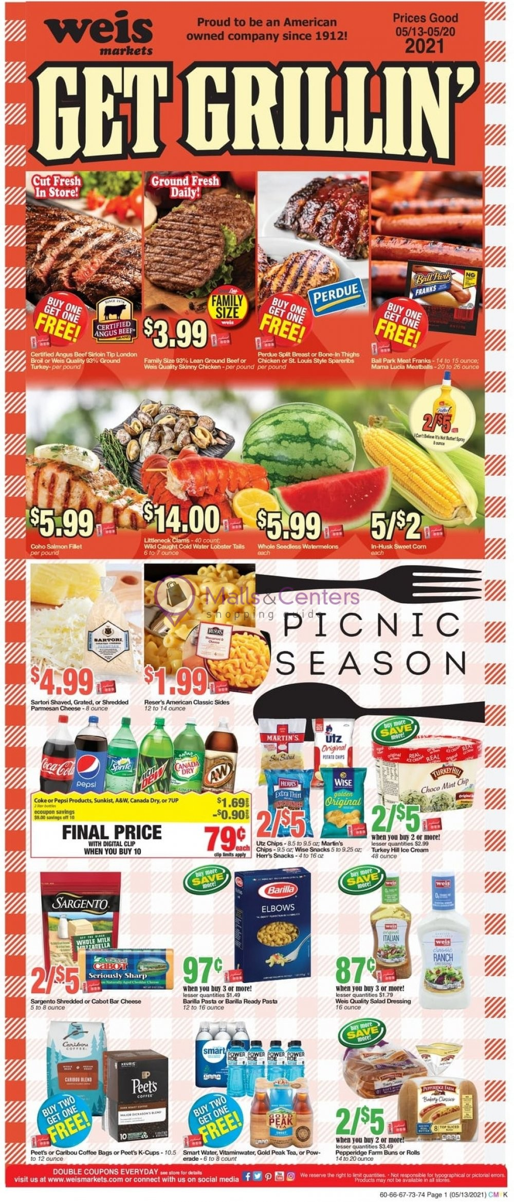 weekly ads Weis Markets - page 1 - mallscenters.com