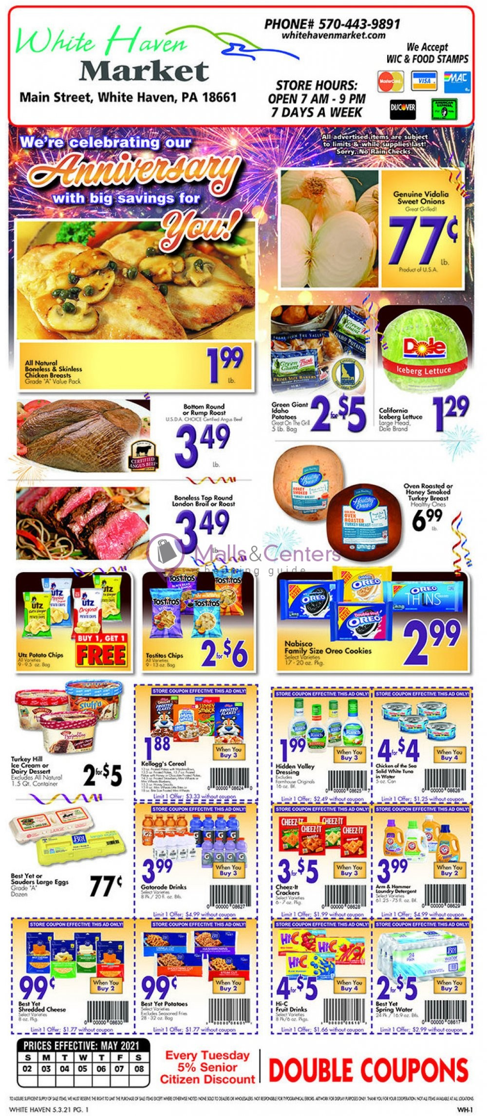 weekly ads White Haven Market - page 1 - mallscenters.com