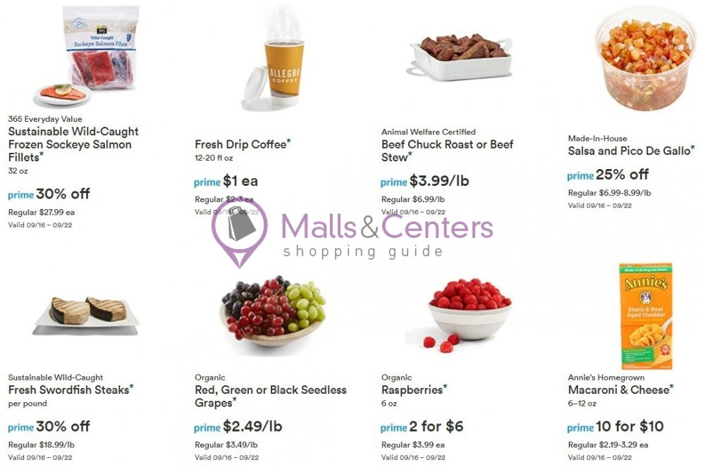 weekly ads Whole Foods Market - page 1 - mallscenters.com