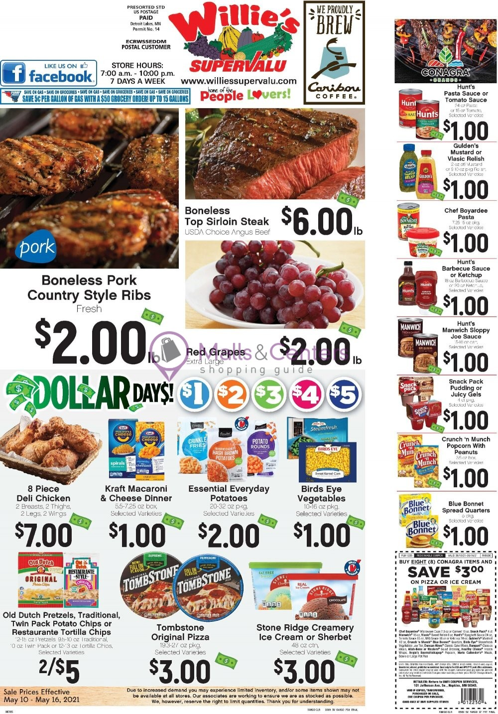 weekly ads Willie's Supervalu - page 1 - mallscenters.com