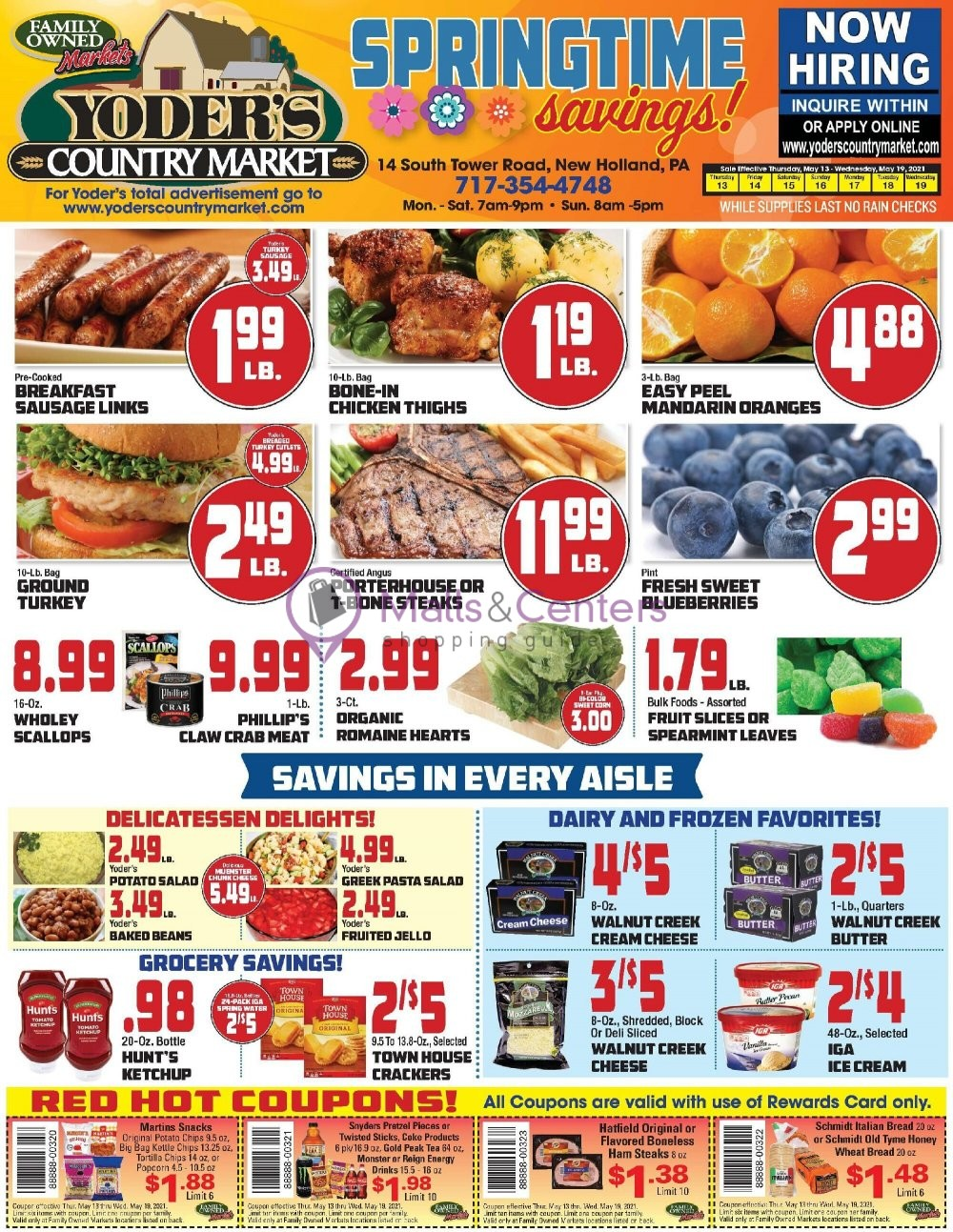 weekly ads Yoder's Country Market - page 1 - mallscenters.com