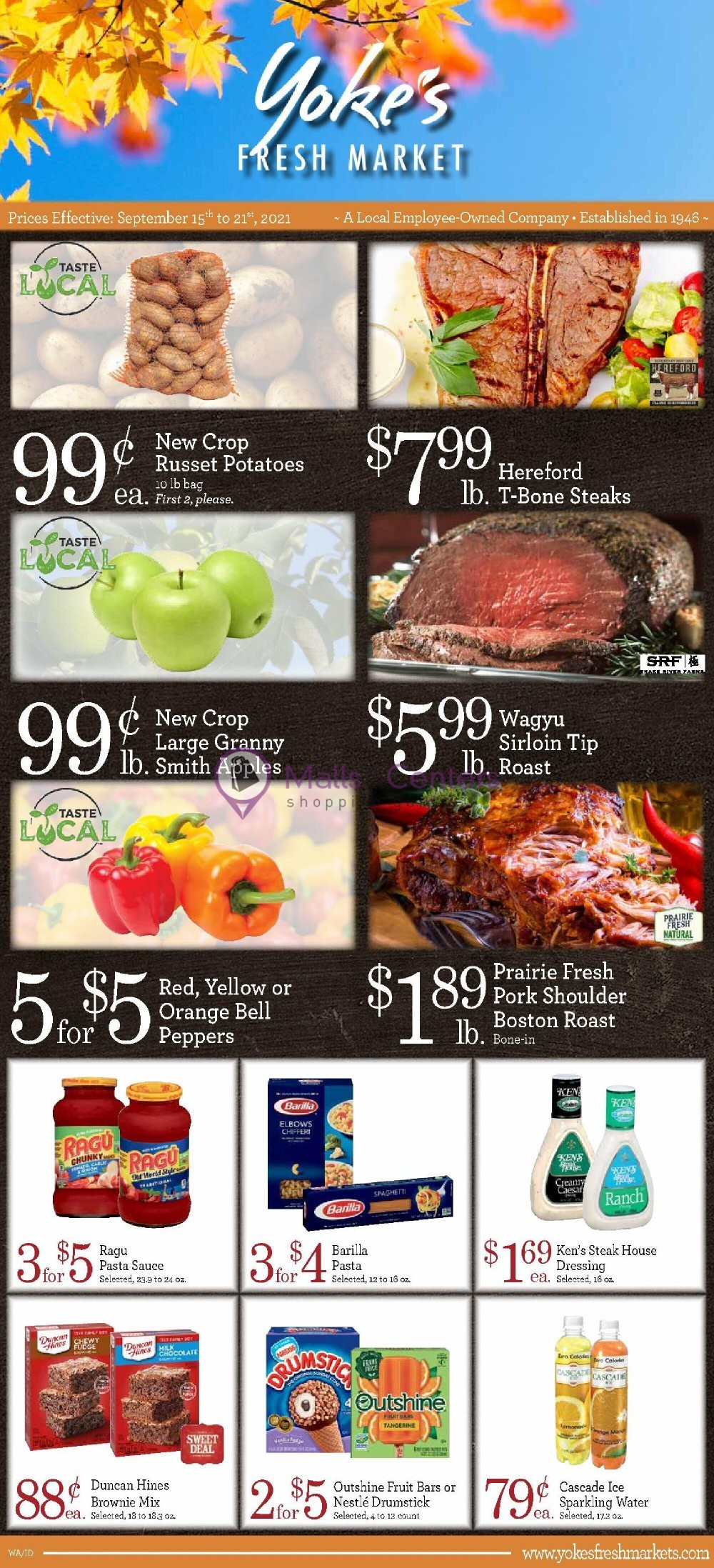 weekly ads Yoke's Fresh Markets - page 1 - mallscenters.com